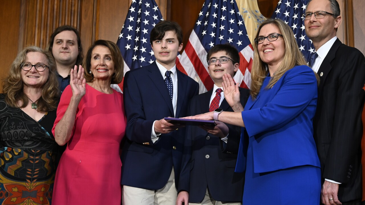 Nancy Pelosi, Jennifer Wexton