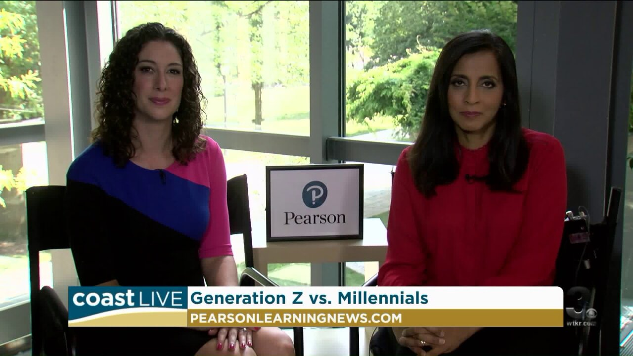 Differences and similarities between Generation Z's and Millennials on CoastLive