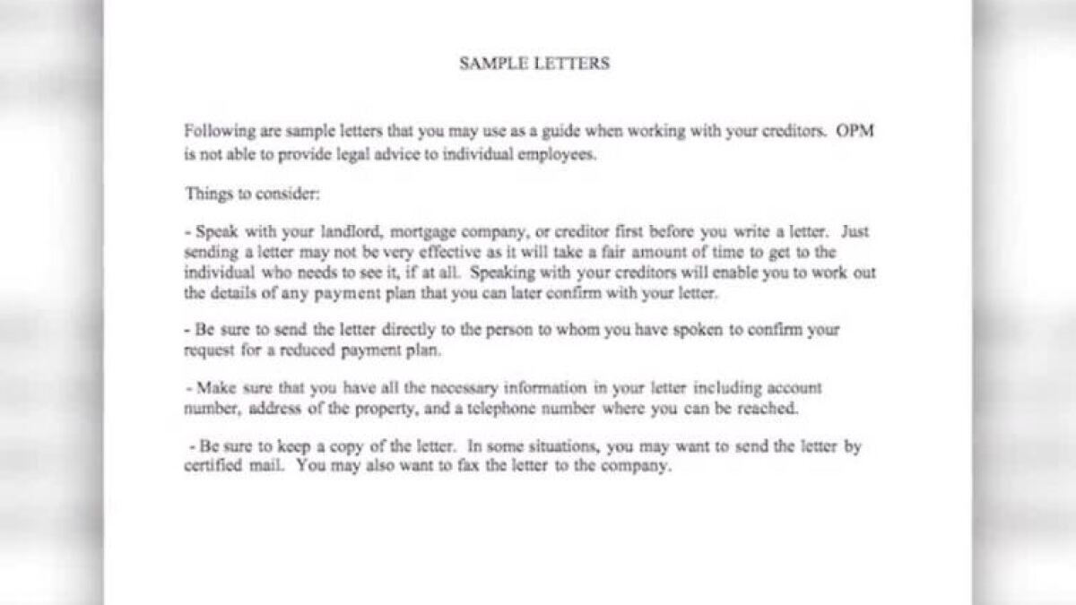 Government Agency Criticized For Sample Letter Advice Sent To
