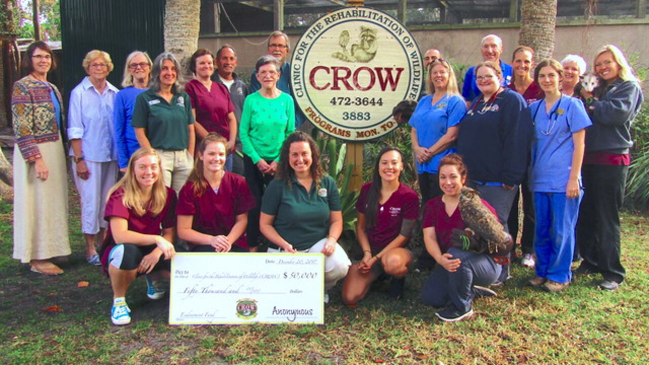 CROW receives $50,000 challenge grant for Endowment Fund