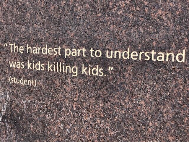 Columbine Memorial Panel