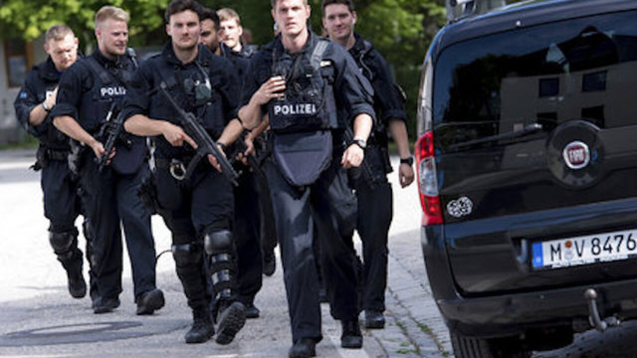 Police officer, others injured in Munich subway shooting