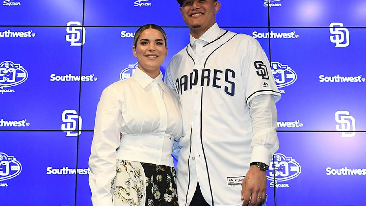 Manny Machado, wife Yainee Alonso