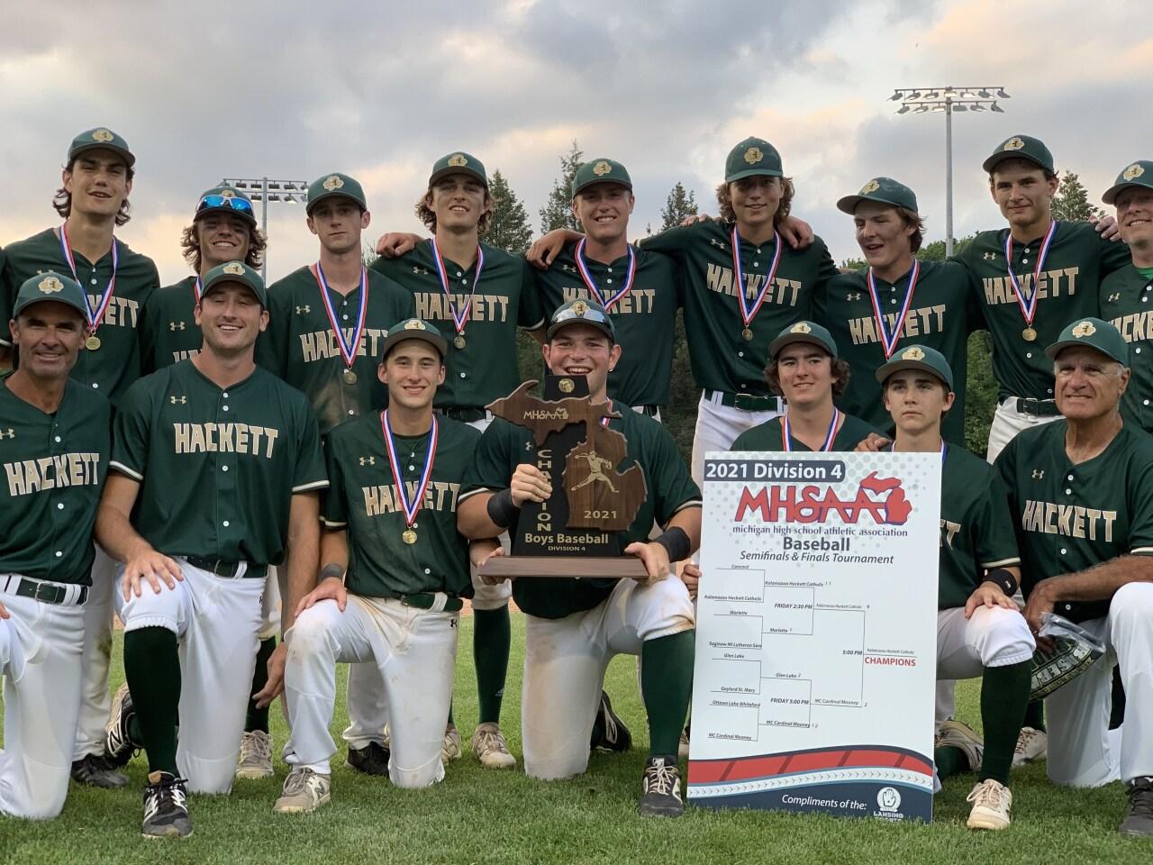Hackett Catholic celebrates state title