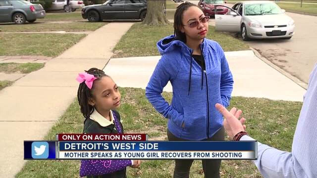 8-year-old girl speaks out after being shot