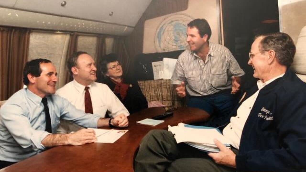 Idaho Senators mourn former president's death