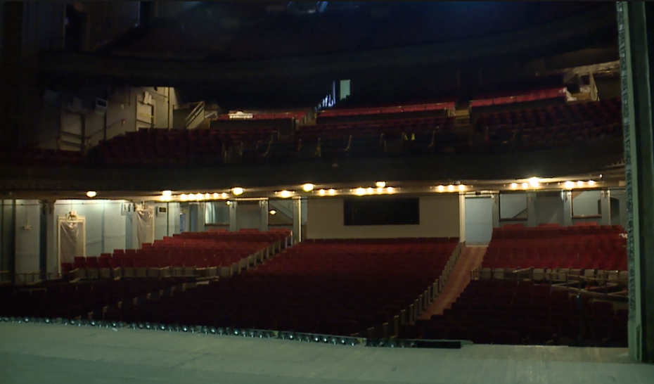 Emery Theatre from stage