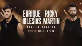 Enrique Iglesias and Ricky Martin bringing tour to Glendale's Gila River Arena this fall