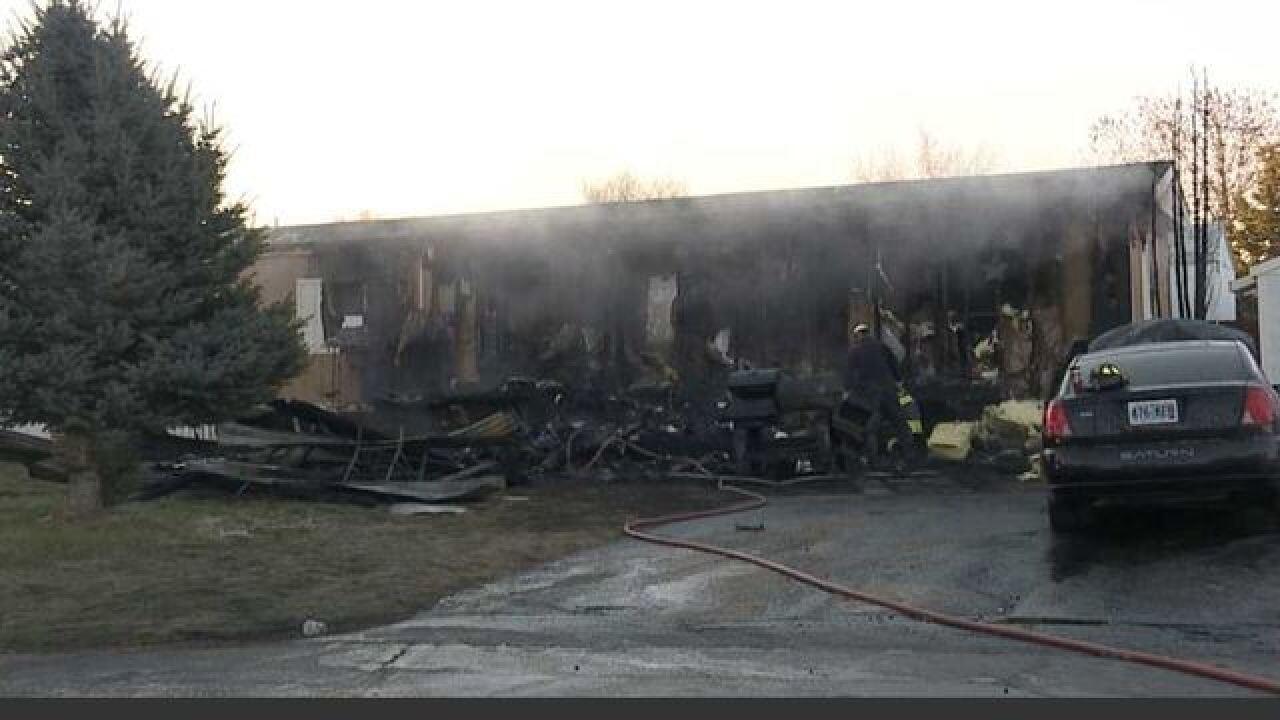 Woman, children OK after Caldwell home fire