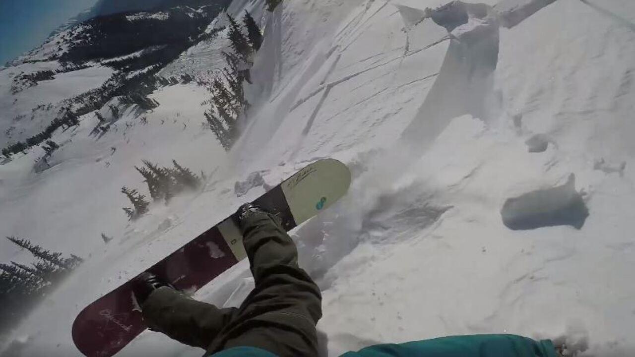 Snowboarder survives avalanche in Whistler, records terrifyingslide