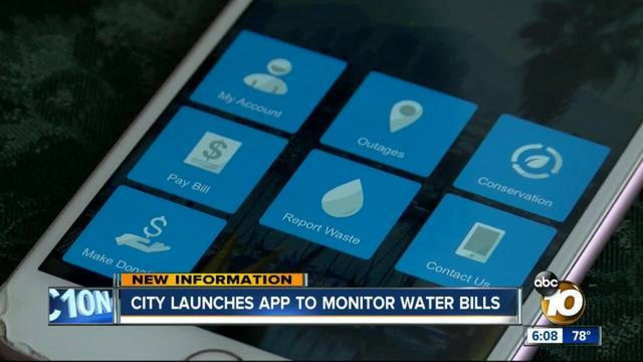 New city app helps customers monitor water bills