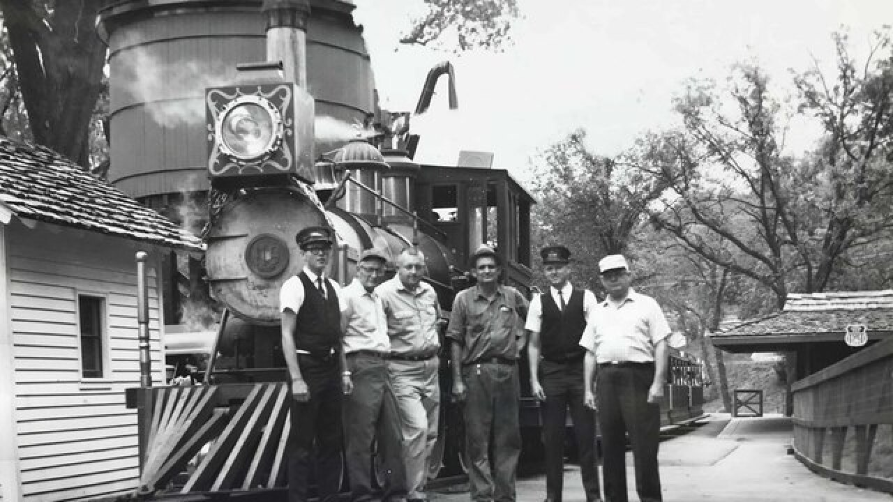 Henry Doorly zoo train turns 50