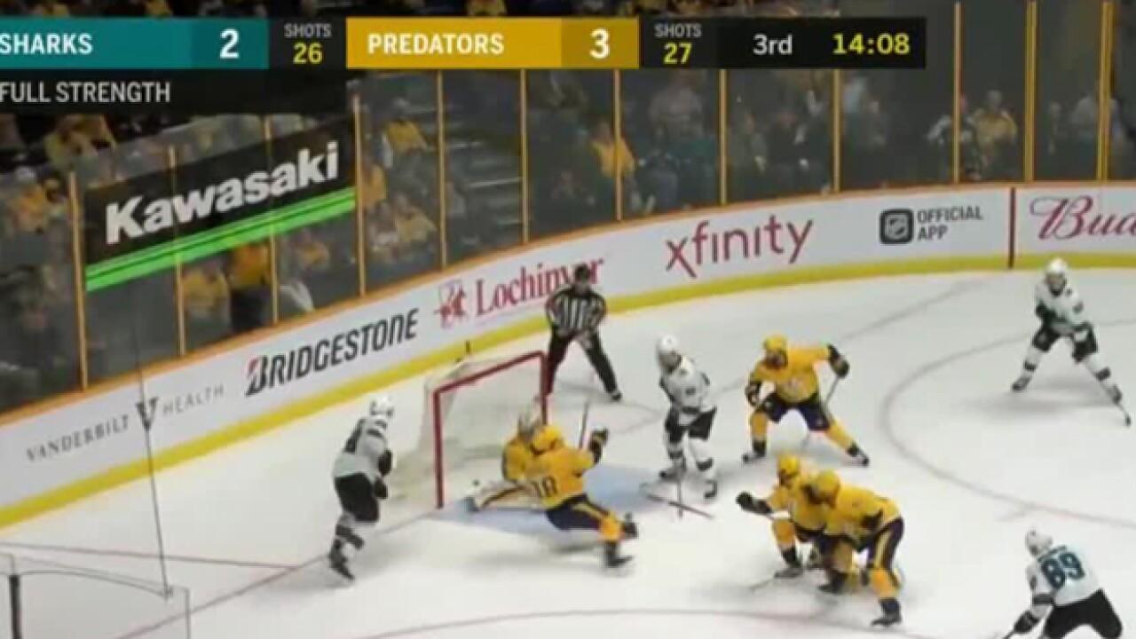 The Story Of The Nashville Predators Emergency Backup Goalie