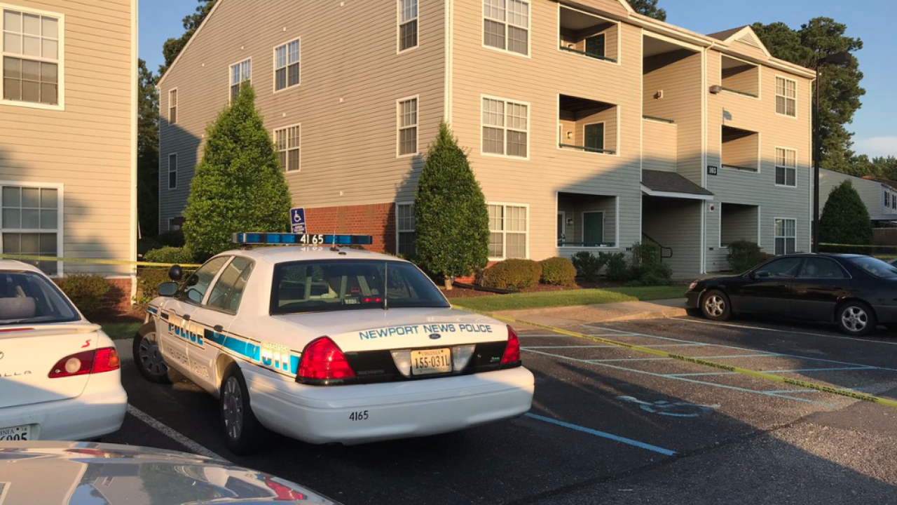 Man, woman found dead inside Newport News apartment