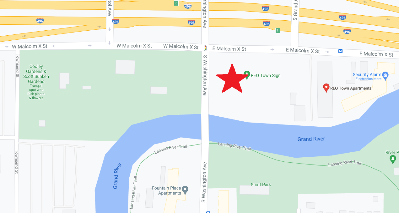 Location of new apartments