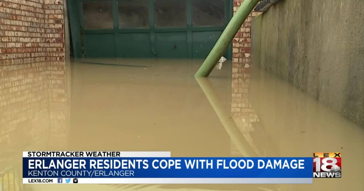 Northern Kentucky residents cope with flood damage