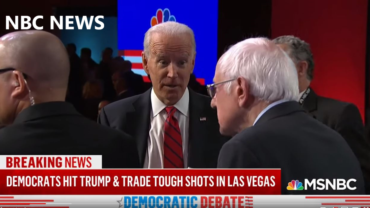 Six of the Democratic Presidential candidates took part in a debate in Las Vegas hosted by NBC News