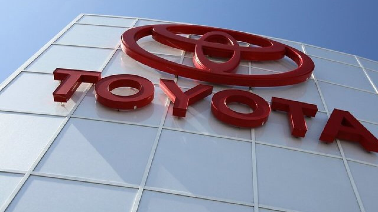 Toyota recalls more than 168K trucks, SUVs and cars to fix air bag problem