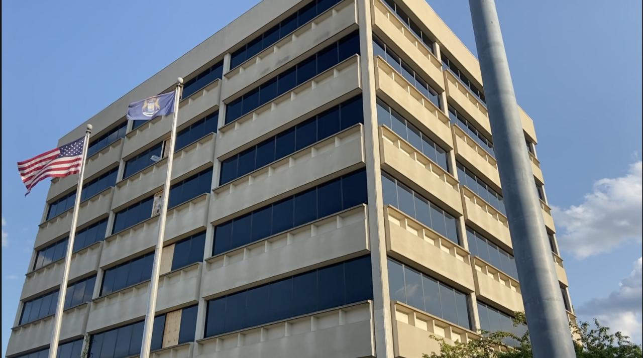 Former Lake Trust Credit Union Building