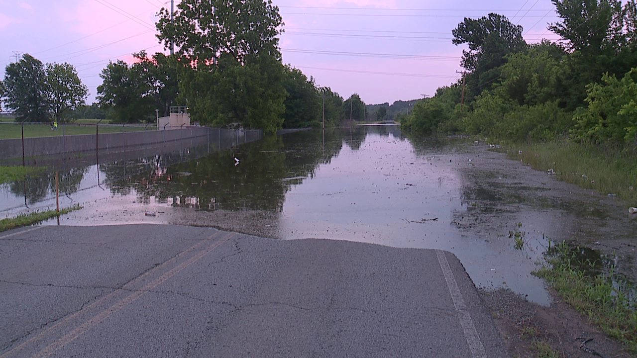 Muskogee County flooding