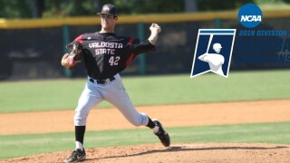 Cone's Complete-Game Gem Highlights 6-1 NCAA Tournament Victory for the Blazers