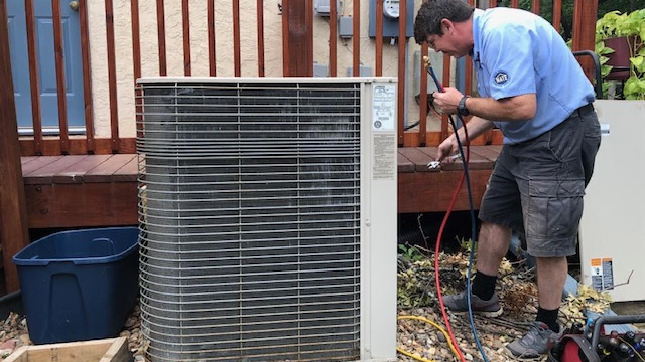 Air conditioner technician