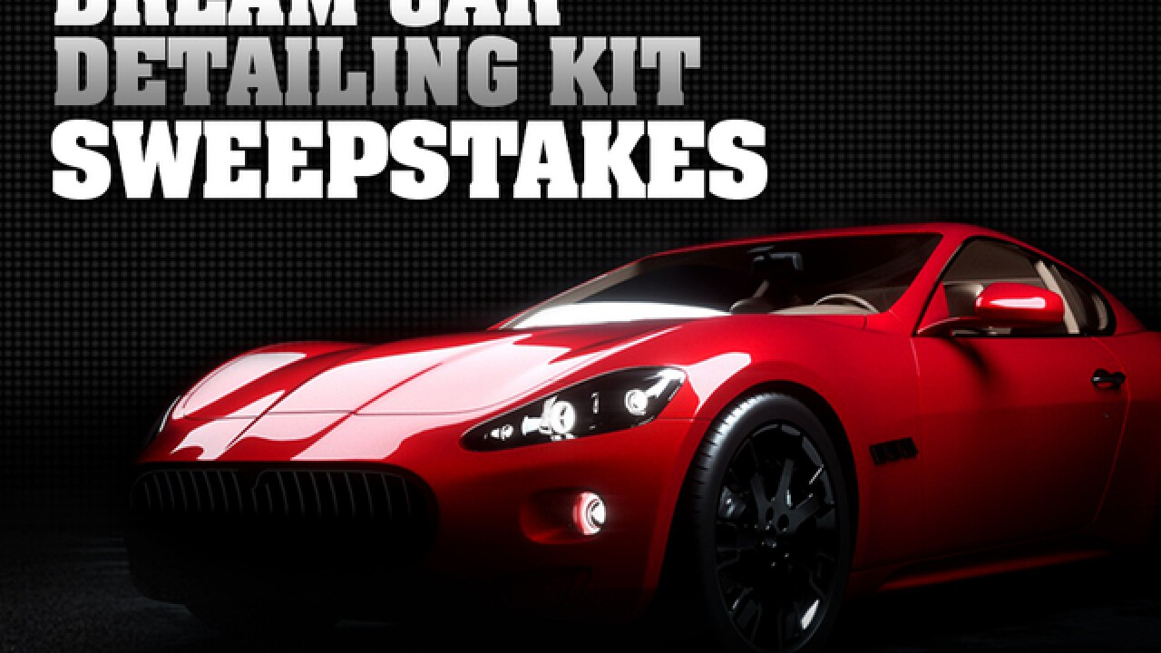 Enter to win a car detailing kit from Autogeek.com