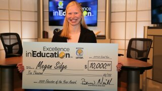 Special education teacher wins Michigan Lottery's 'Educator of the Year' award