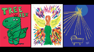Driscoll Children's Hospital Holiday Cards designed by patients now on sale
