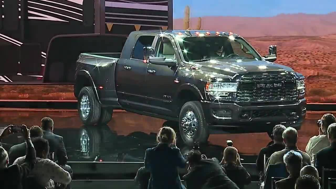 Ram Unveils 2019 Ram Heavy Duty At The North American International