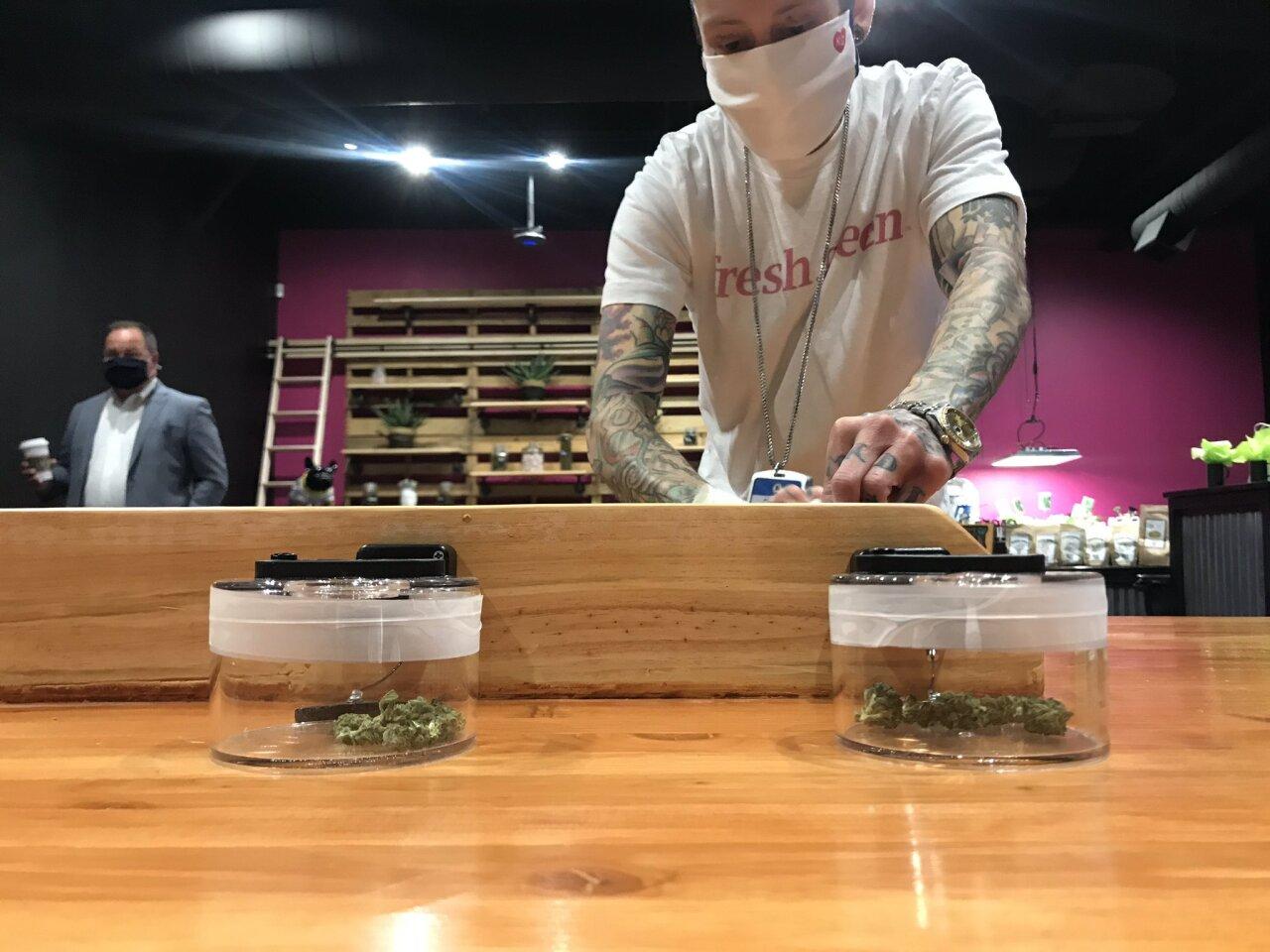 Fresh Green medical marijuana sales Missouri employee
