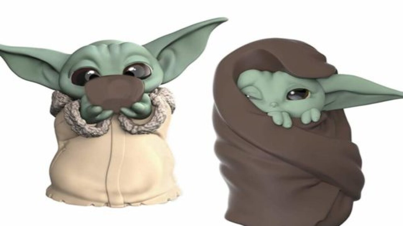 You Can Now Buy A Baby Yoda Drinking Soup And He's Adorable
