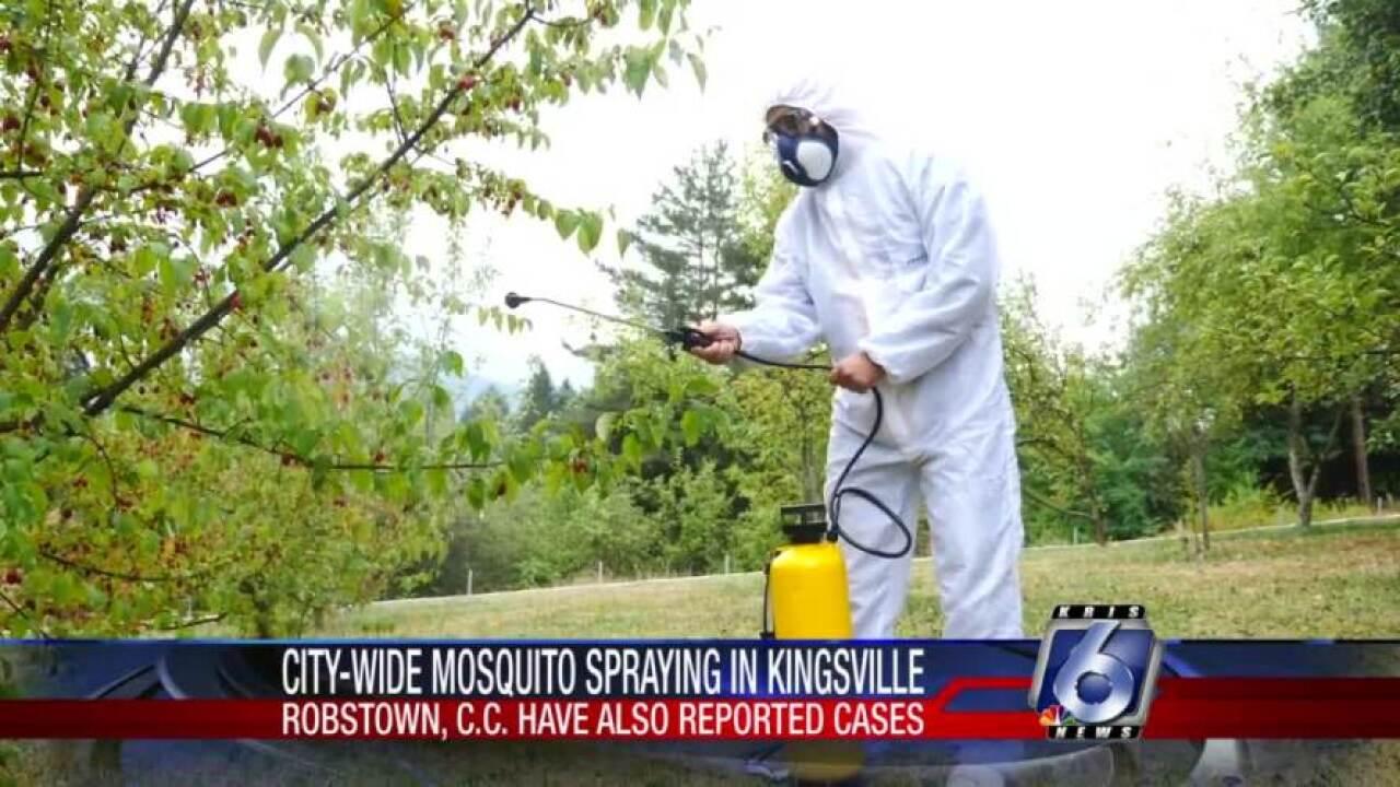 Kingsville mosquito spraying