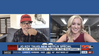 Jo Koy talks with 23ABC