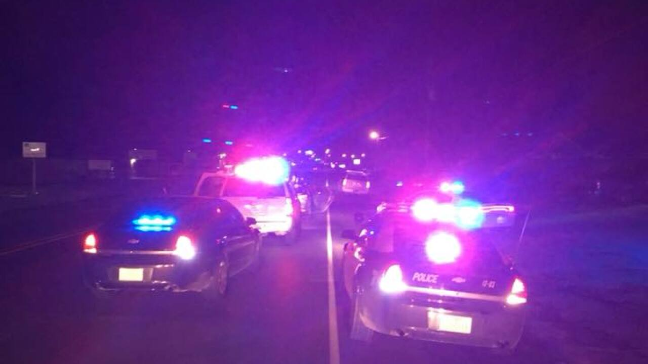 Several agencies respond to police chase