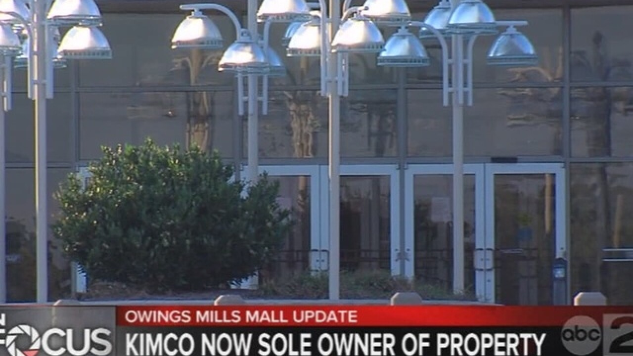 Kimco buys out GGP's stake in Owings Mills Mall