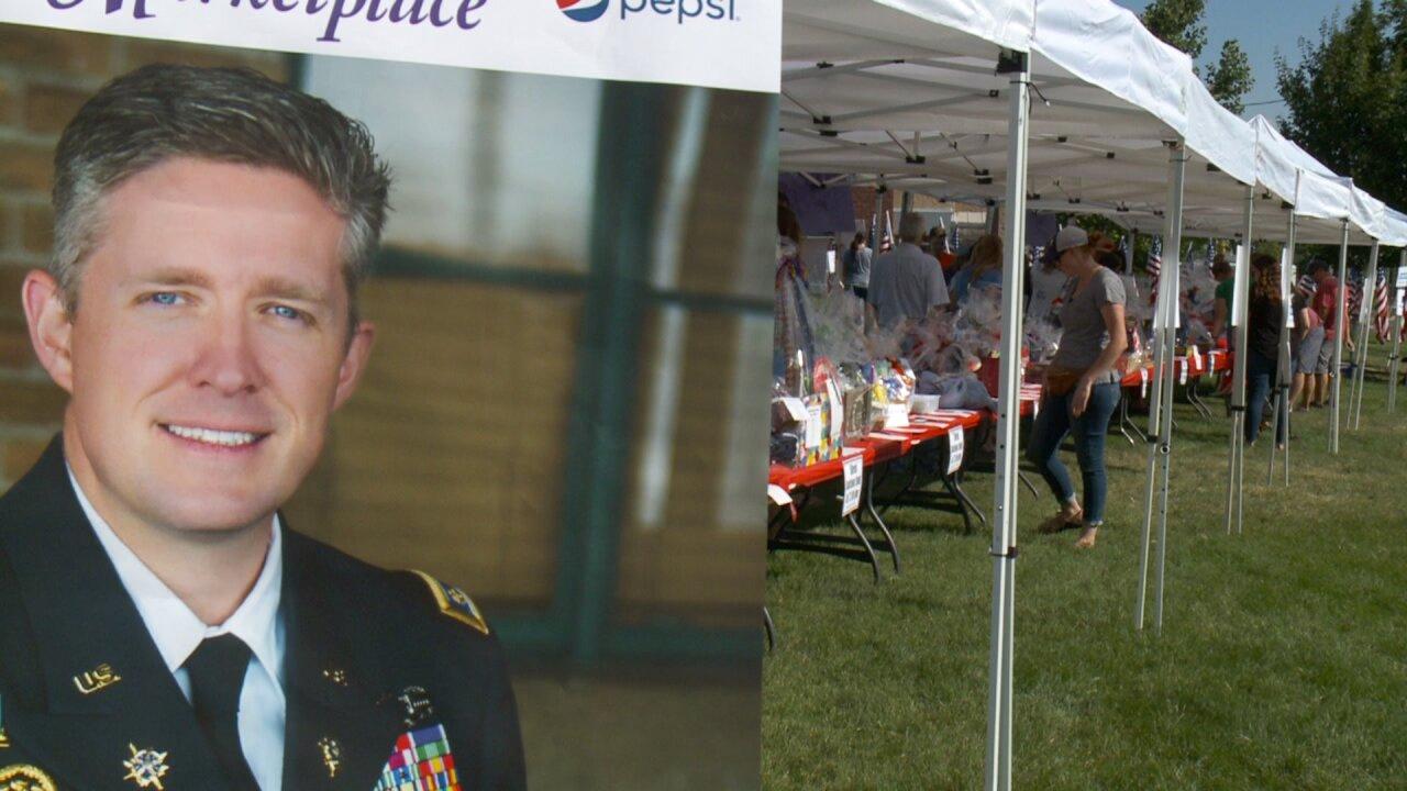 Community gathers to celebrate Maj. Brent Taylor'sbirthday