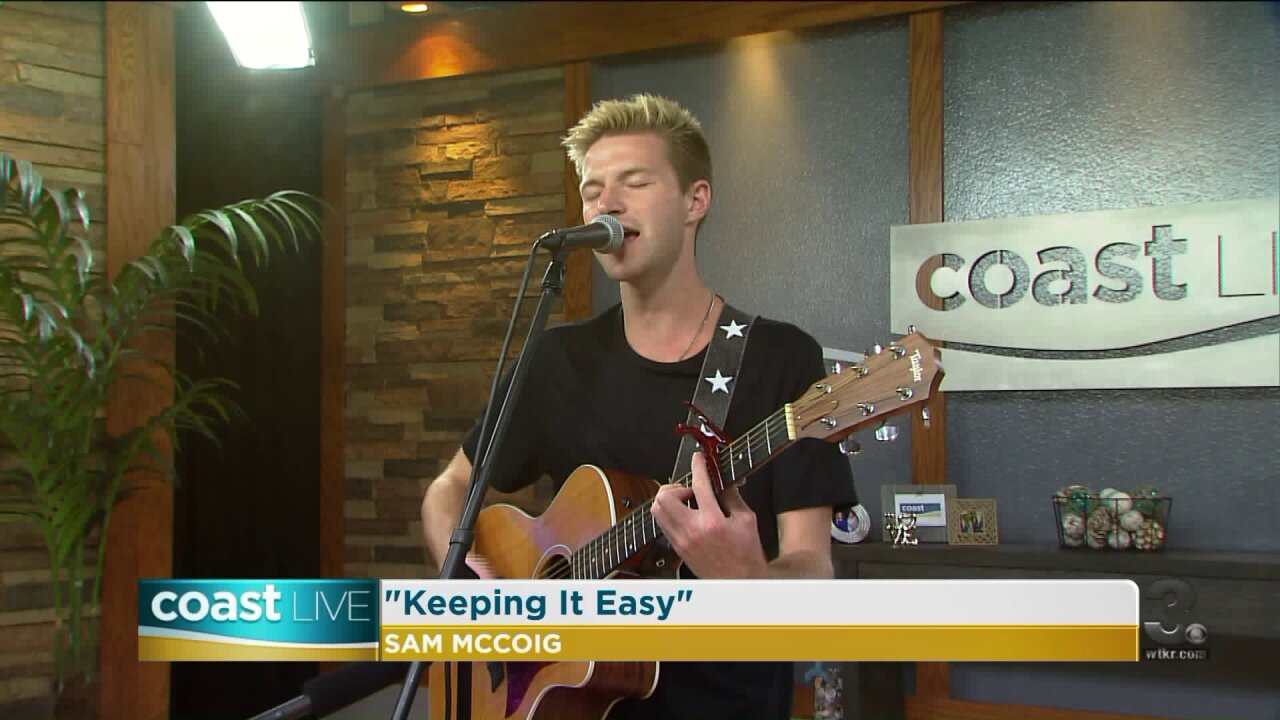 Local music spotlight with Sam McCoig on CoastLive