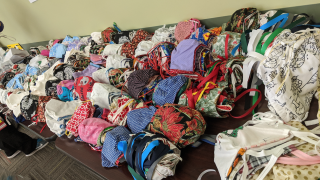 University Hospitals face mask donation