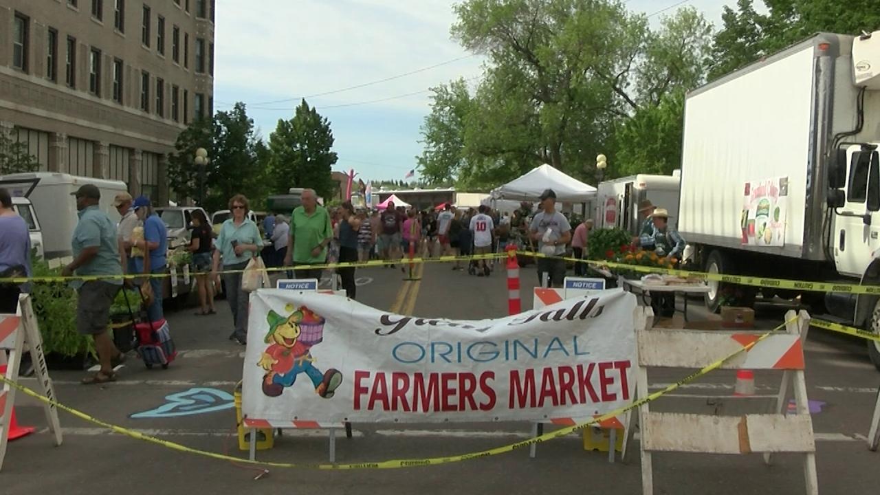 Farmers' Market in Great Falls