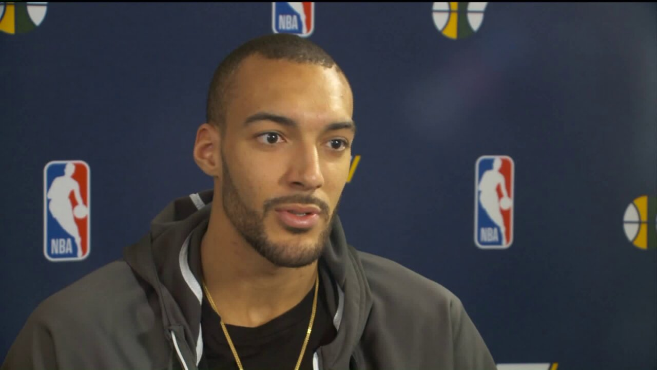 3 Questions with Bob Evans: Rudy Gobert on making it in the NBA