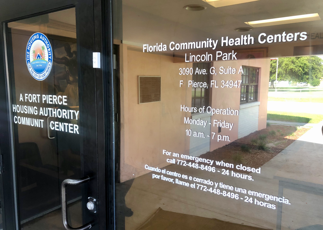 Fort Pierce health center.PNG