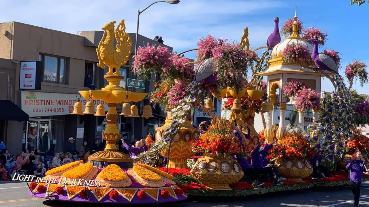JJ's Legacy Rose Parade Float