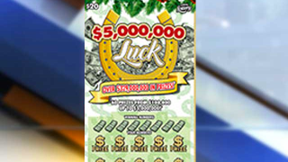 Florida Lottery Luck scratch-off
