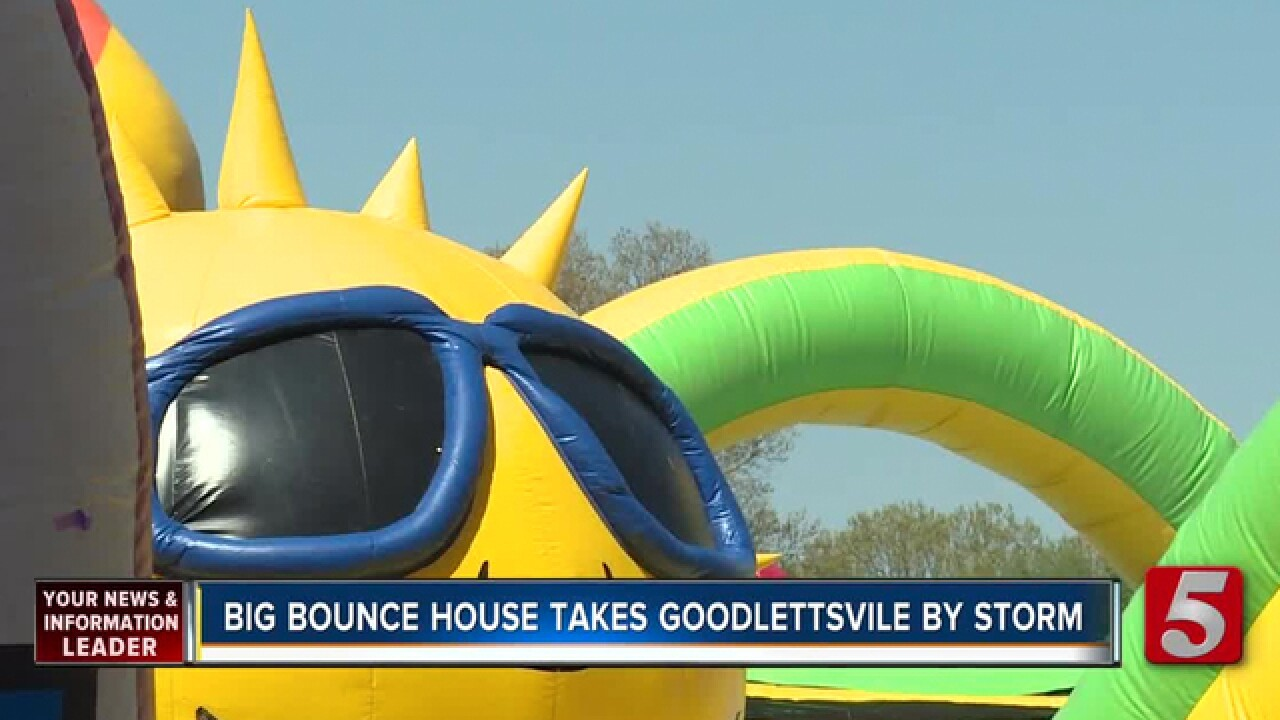 'The Big Bounce America' Bounces Into Goodlettsville
