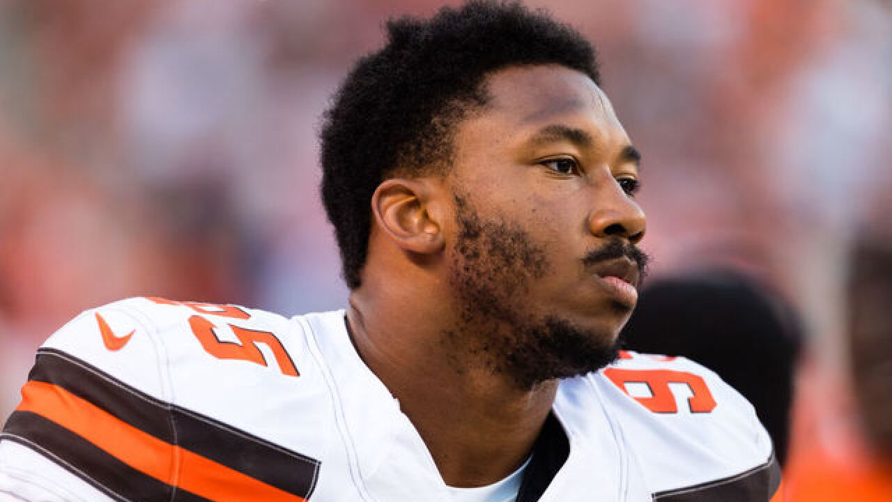 Browns' Garrett 'doubtful' to play Colts but nearing return
