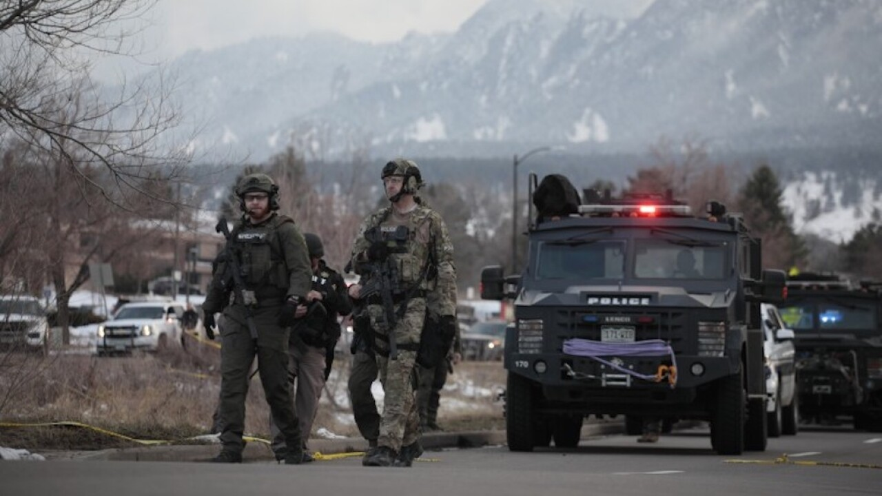 Boulder mass shooting