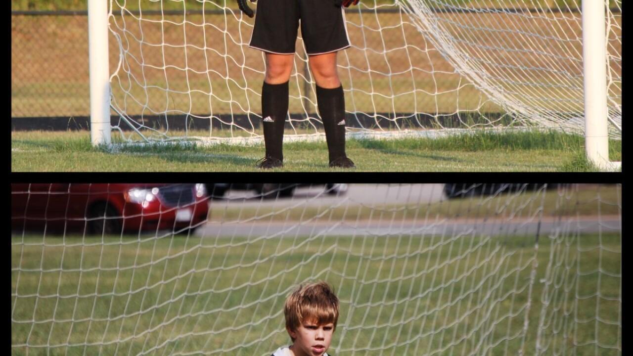 Andy Sabochick, Grafton High School in Yorktown, Andy has played soccer since he was 4 years old - and wanted to be a goalie from the beginning as you see in the picture.jpg