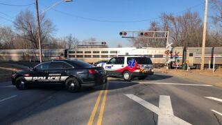 independence car vs train crash