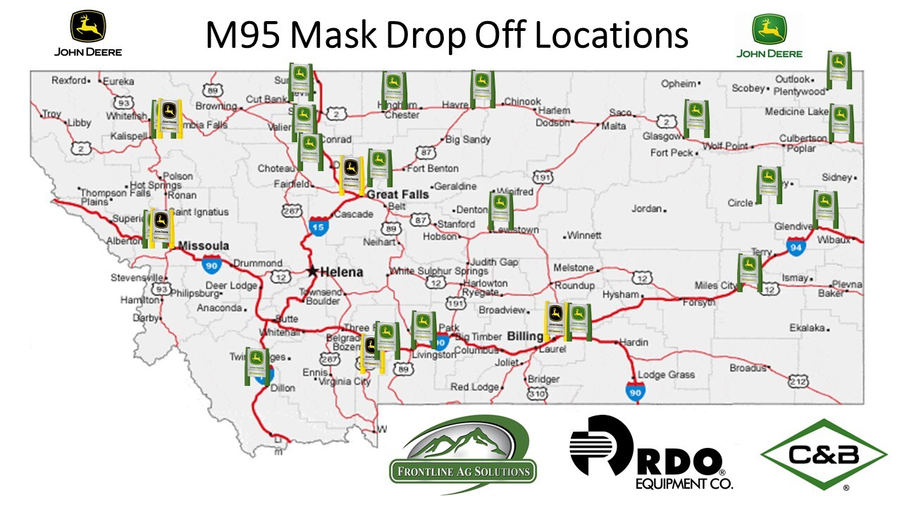 Montana Ag Network: John Deere dealers collecting protective masks for medical workers